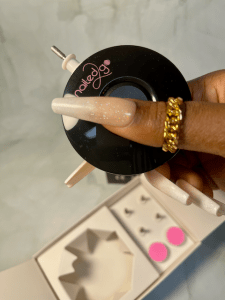 press on nail drill