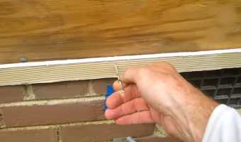 how to nail hardie board siding