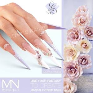 mystic nails flower fantasy