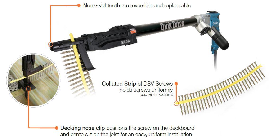 Decks Gun Nails Nail