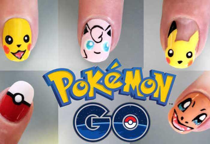 5 Diseños De Uñas Pokémon Go Nailistas Productos De Uñas