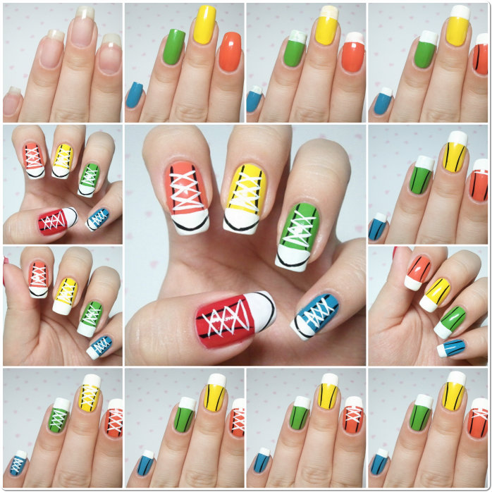 Step By Nail Art Tutorial 14