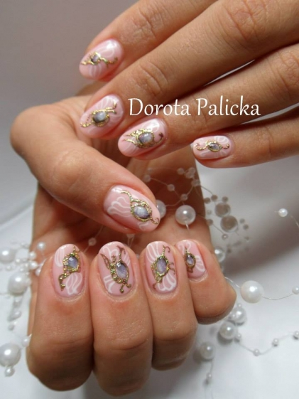 One Stroke Nail Art Training Available In Glasgow Aberdeen Fort William