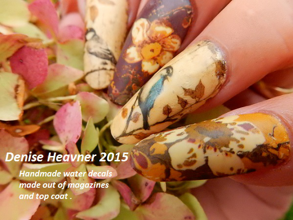 Easy Nail Art With Decals