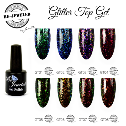 Be Jeweled Glitter Top Collection
