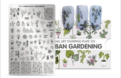 Moyra Stamping Plate 105 Urban Gardening