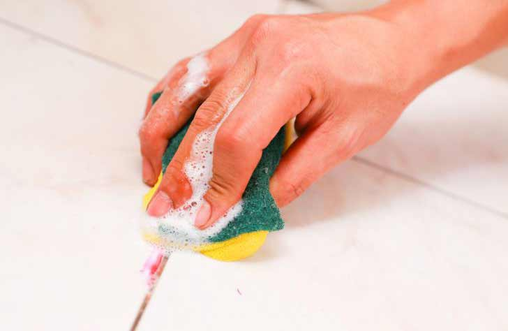 how to remove spilled nail polish from