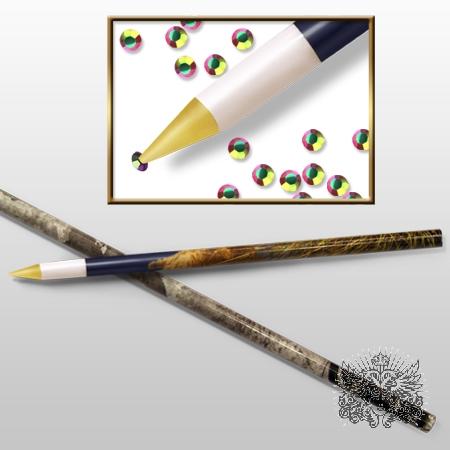 Aliexpress Professional Nail Art Set Kit 10pcs Lot White Wax Rhinestones Gems Picker Pencil Tool Dotting From Reliable Eye