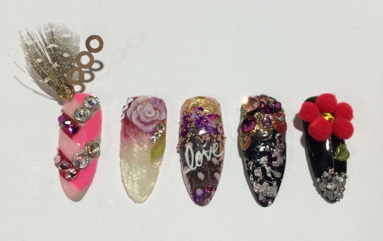 Lauren's Valentine's Day nails