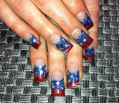 Nailspadesigns Acrylic Nail Art 2017 4th Of