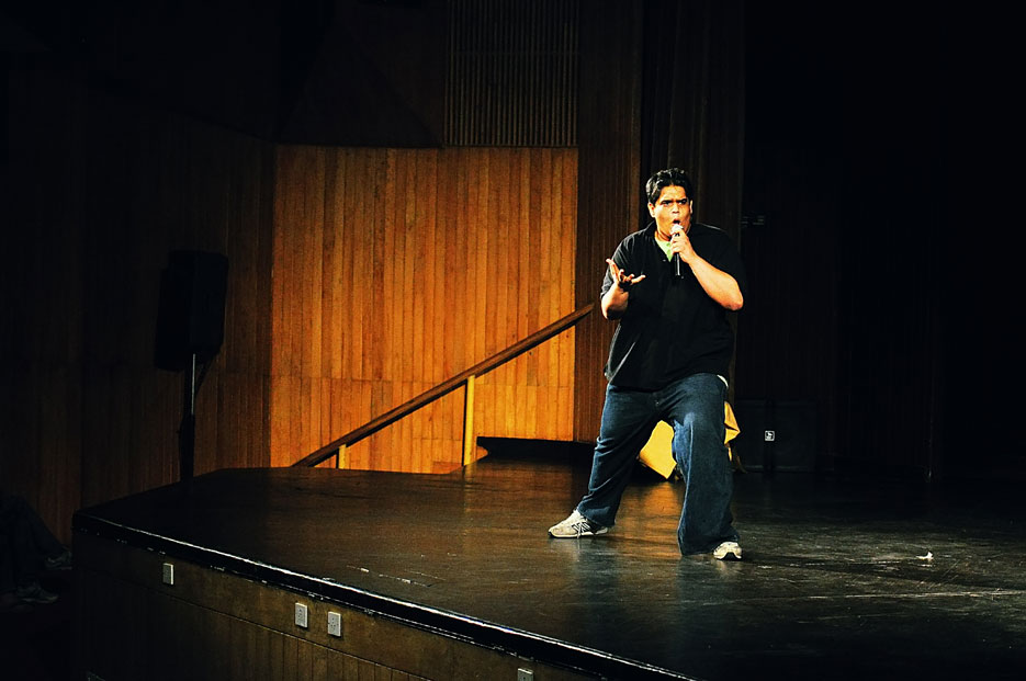 Indian Stand Up Comedy Night, Indian Habitat Center, photographed by professional Indian photographer Naina