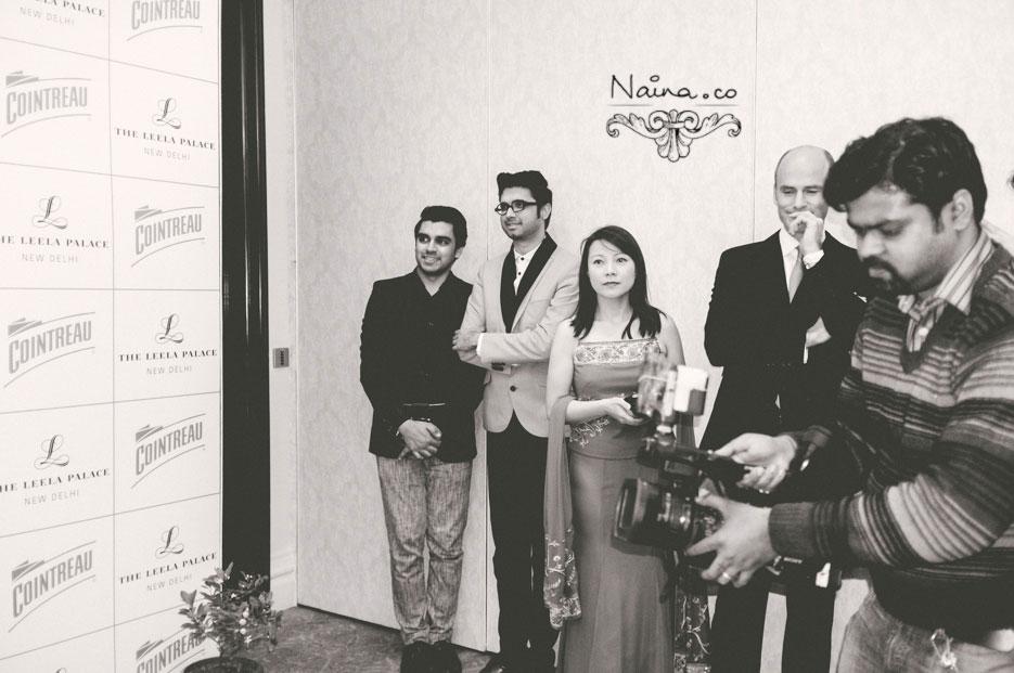 Dita Von Teese in Shivan Narresh at The Leela Palace by Cointreau. #BeCointreauversial photographed by photographer Naina Redhu of Naina.co