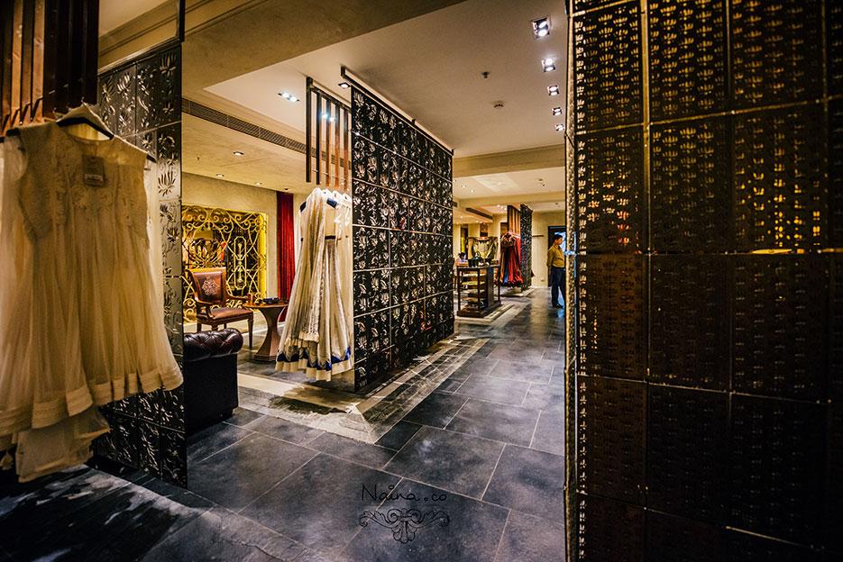 Rohit Bal, Store Visit, Luxury Fashion Designer by photographer Naina Redhu of Naina.co