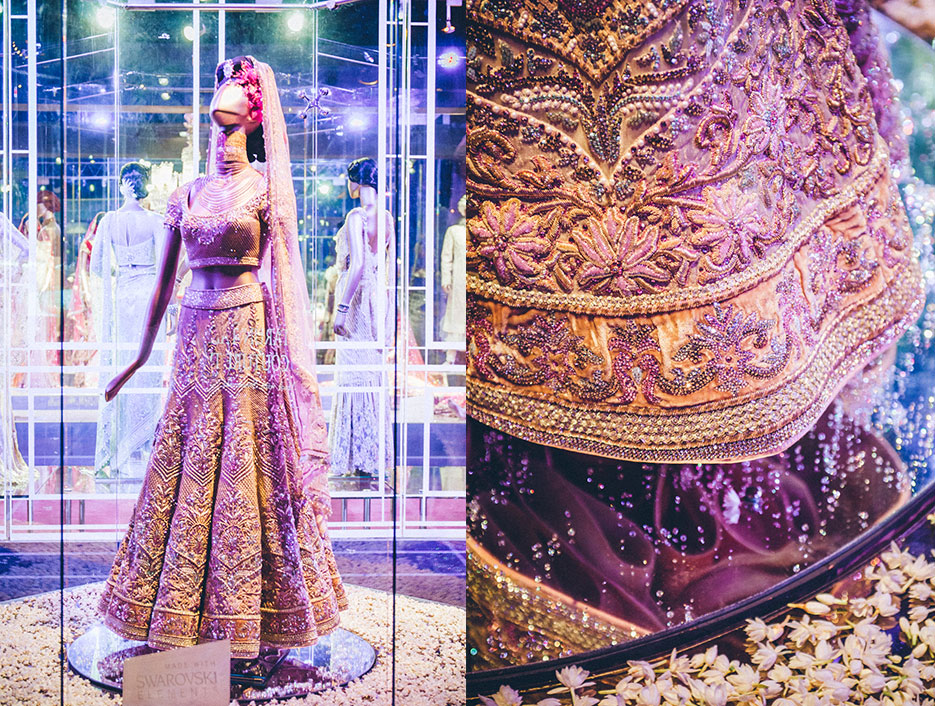 Tarun Tahiliani, Fashion Designer, Bridal Couture Exhibition, DLF Emporio. Fashion Event Photography by professional Indian lifestyle photographer Naina Redhu of Naina.co