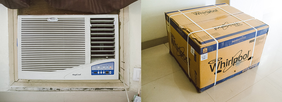 Customer service escalation, replacement of air conditioner unit by Whirlpool. India, New Delhi, Noida.