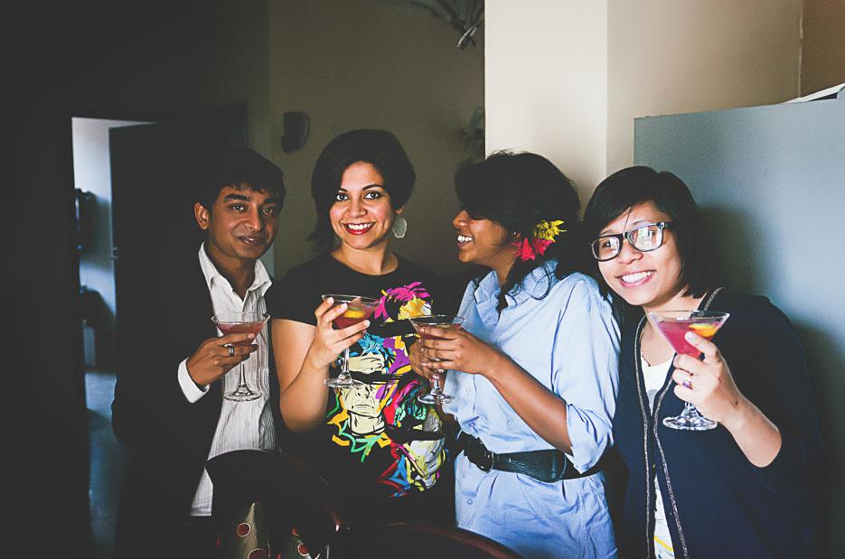 Cointreau lunch. Photography by professional Indian fashion photographer Naina Redhu of Naina.co