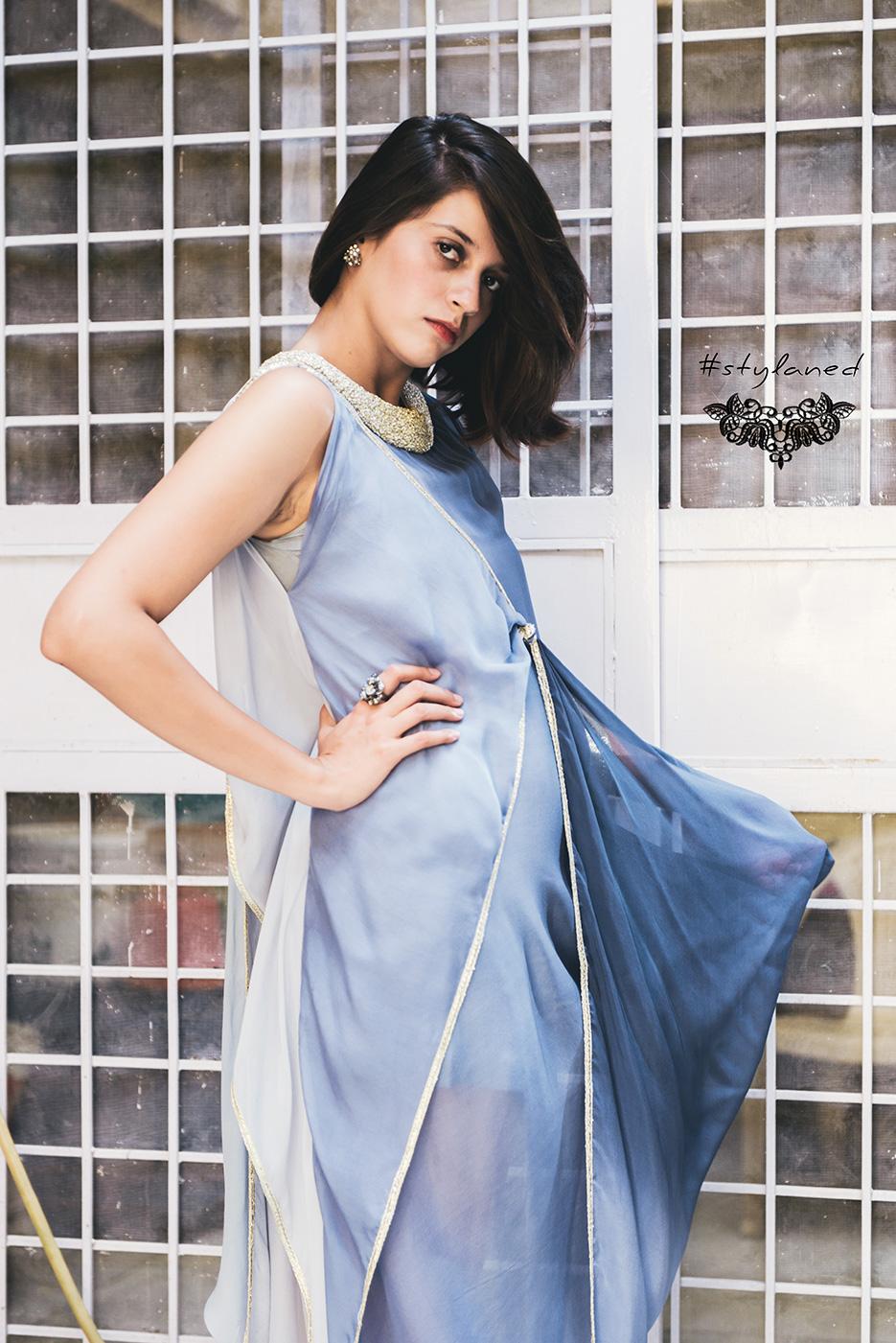 #stylaned Fashion features by photographer Naina Redhu and designer / stylist / blogger Akanksha Redhu for Jenjum Gadi