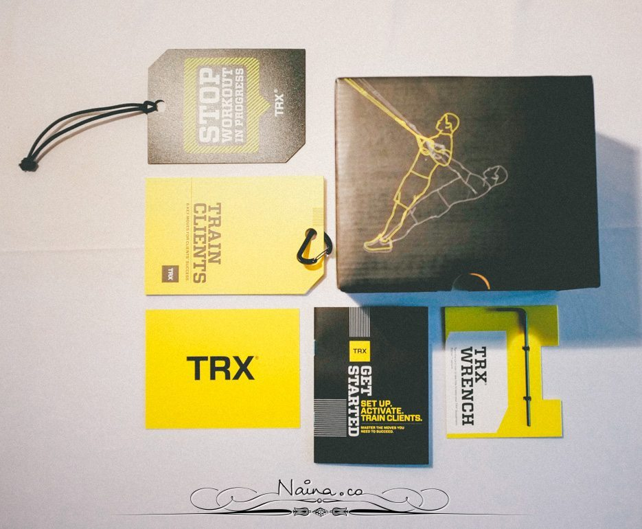 TRX Pro Suspension Training Kit Lifestyle Photographer Blogger Naina.co Photography