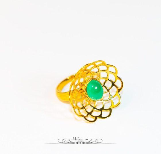 Amrapali Jewels Gold & Green Jewelry, Professional photographer Naina.co