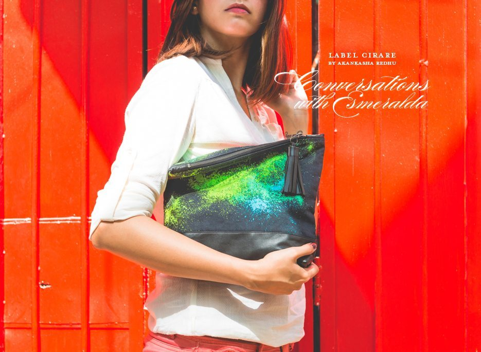 Label Cirare Akanksha Redhu Clutches Conversations With Esmeralda Collection Launch Fashion Photographer Naina.co
