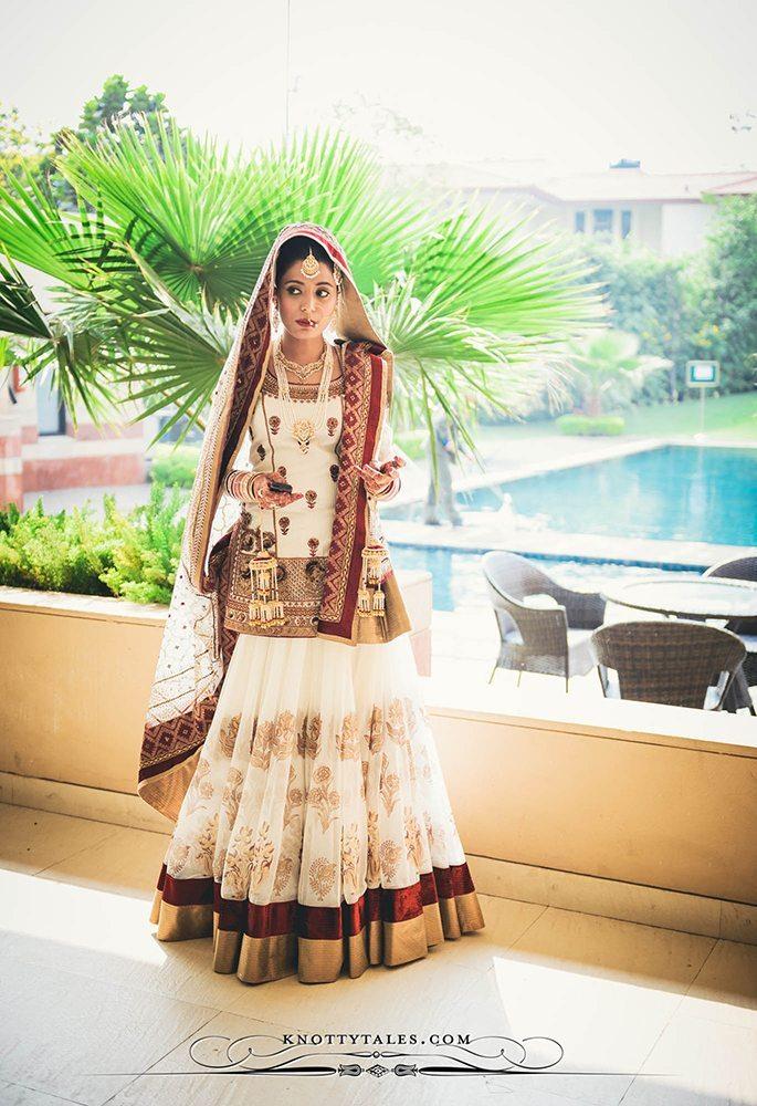 Jeevan Saify Wedding Photography Bride Getting Ready Make up Lehenga Knottytales Naina.co Lifestyle Luxury