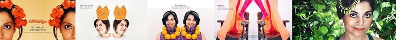 Susie-Bubble-Vitamin-Water-London-Fashion-Week-LFW-2013-Naina.co-Double-Orange-Summer-Favorites-Shine-Bright