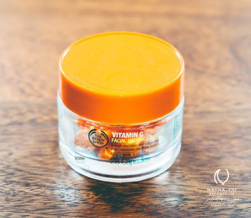 Naina.co-Feb2014-BodyShop-Vitamin-C-Facial-Radiance-Capsules-Luxury-Raconteuse-Storyteller-Photographer-Beauty-Blogger