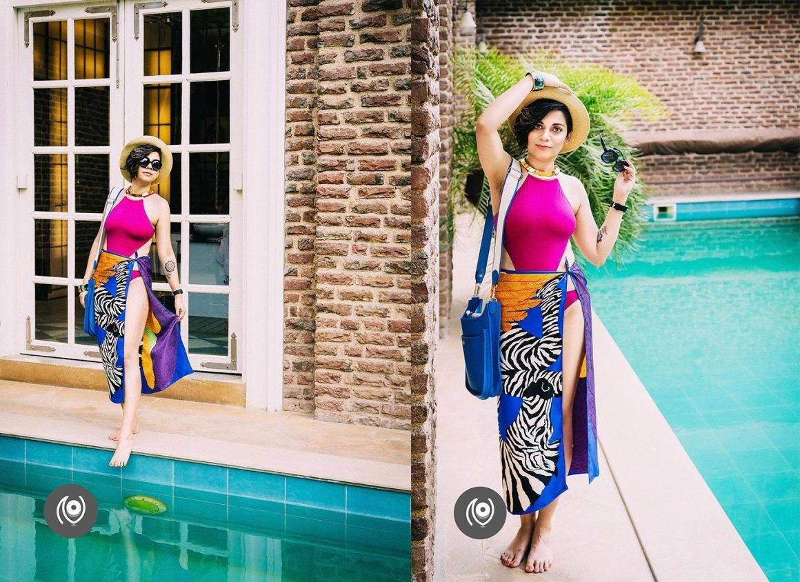 #CoverUp 40, Hermes Swimwear, Poolside Blue Brilliance, #EyesForLuxury, Naina.co Luxury & Lifestyle, Photographer Storyteller, Blogger.