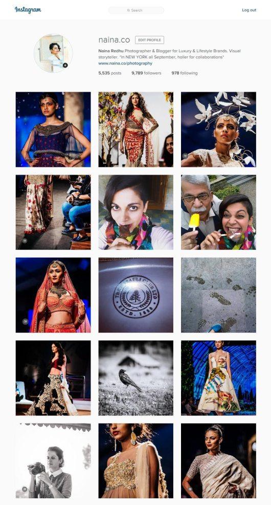 Instagram Etiquette, Naina.co Luxury & Lifestyle Photographer, Blogger Storyteller