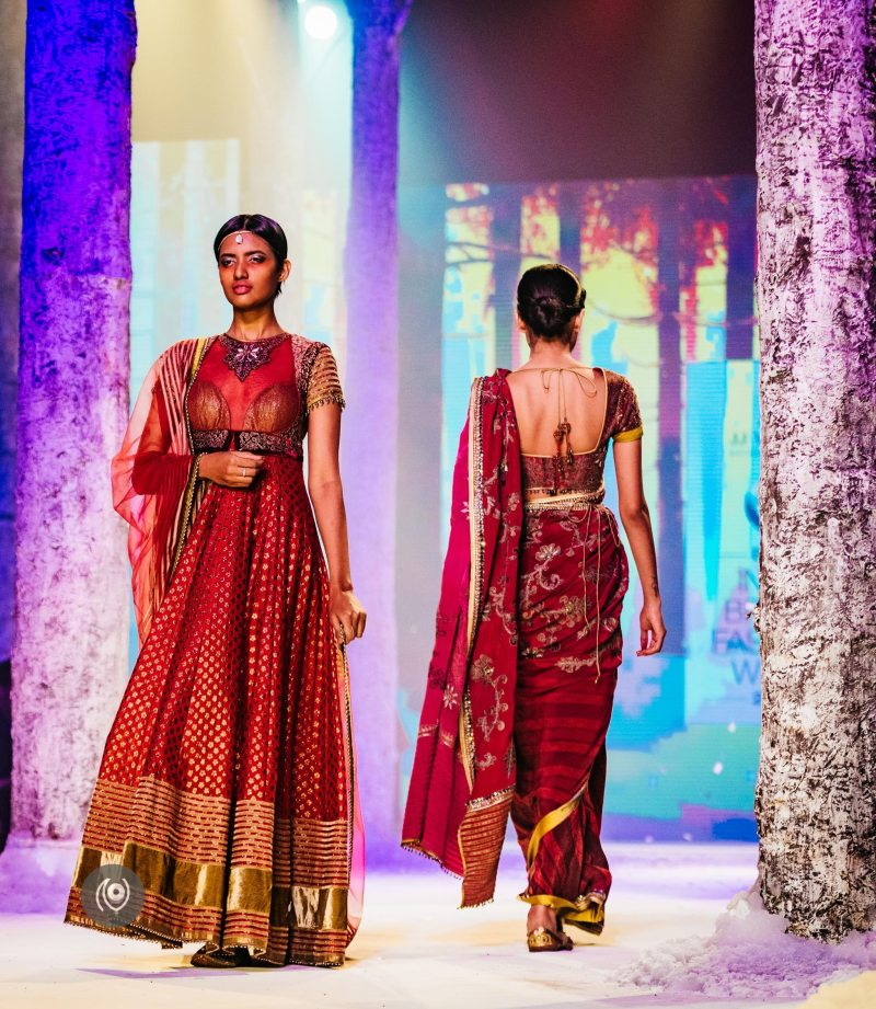 #SwarovskiCrystals JJ Valaya,, BMW India Bridal Fashion Week, #BMWIBFW, Naina.co Luxury & Lifestyle, Photographer Storyteller, Blogger.