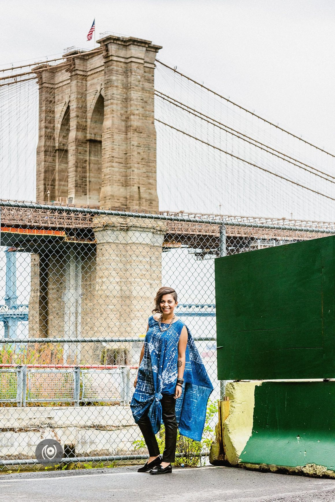 Brooklyn Bridge, Wall Street #CoverUp 53 #EyesForNewYork #REDHUxNYC Naina.co Luxury & Lifestyle, Photographer Storyteller, Blogger