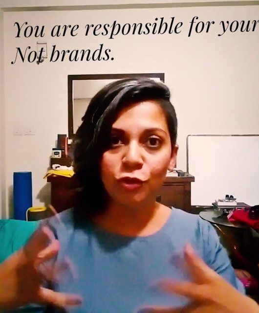 Brands are not responsible for your rent. You are. Naina.co Luxury & Lifestyle, Photographer Storyteller, Blogger