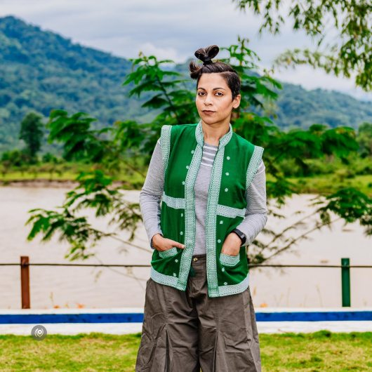 #CoverUp 80, #EyesForArunachal, Naina.co, Luxury Photographer, Lifestyle Photographer, Travel Photographer, Fashion Photographer, Naina Redhu, #EyesForDestinations, #EyesForIndia, Destination Photographer, India, Arunachal Pradesh, Experience Collector, Photo Story, Visual Experience Collector, #CoverUp, Gaaley, Men's Jacket, Traditional Arunachali Jacket, Hand-Woven, Nicobar, Journey across the Indian Ocean, GAP, Aalo