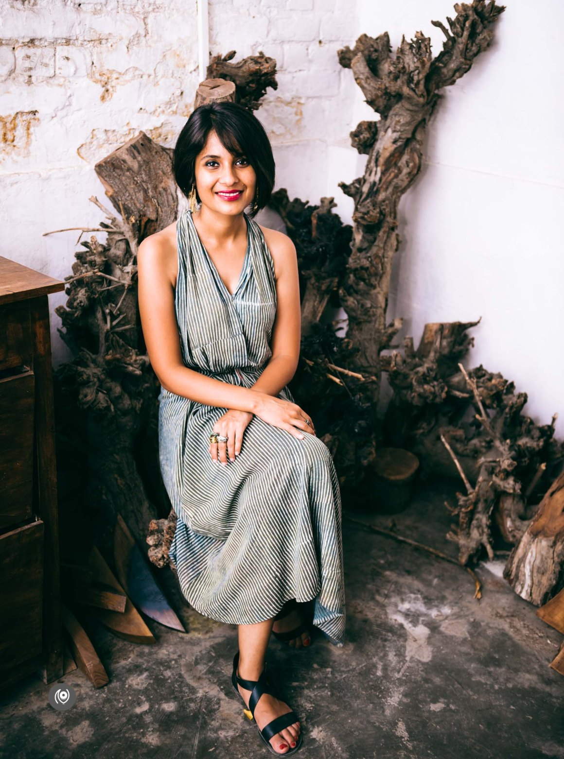 Advaeita Mathur, Studio Metallurgy, Gladd, Wood, Metal, Jewellery Designer, Jewelry Designer, Sculptor, Artist, Designer, Industrial Design, Naina.co, Naina Redhu, Indian Metal Artist, Studio, EyesForInfluencers, People Profiles, Interview Series, New Delhi, Professional Photographer, Professional Blogger, Lifestyle Photographer, Lifestyle Blogger, Environmental Portaiture, Portraits at work