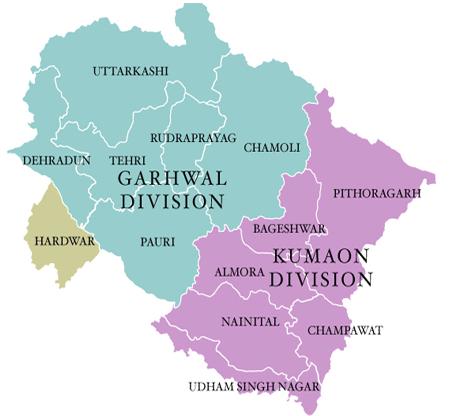 Uttarakhand-Full-Map