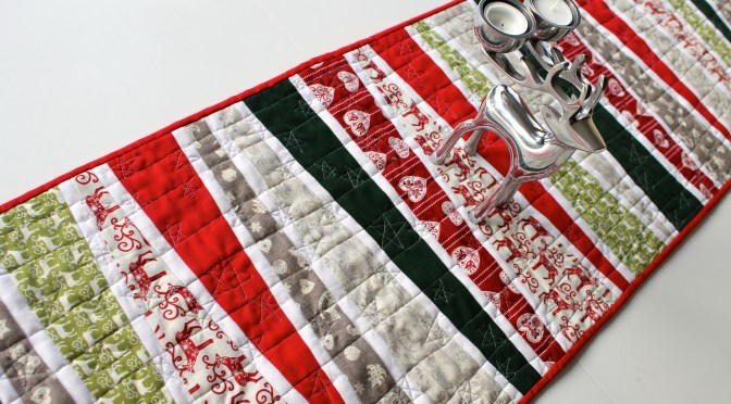 Scandi Christmas Table Runner