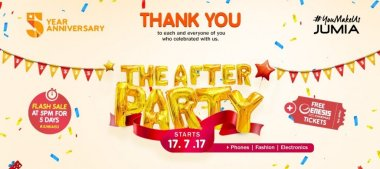 Jumia After Party Sale