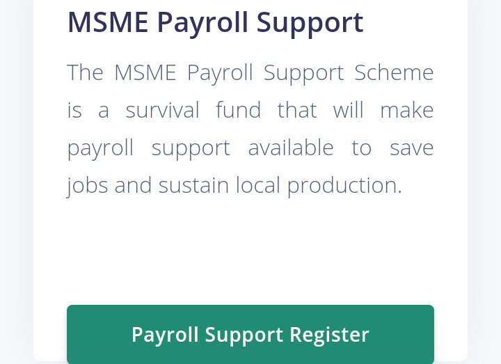 MSME Payroll Support