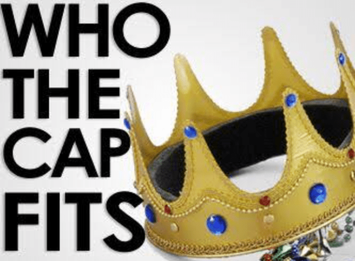 Who the cap fits