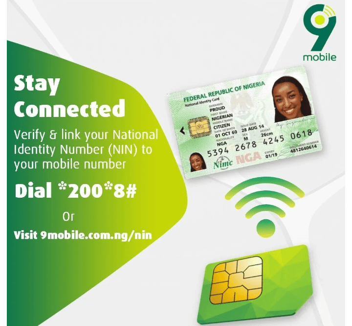 How to link NIN to Etisalat line