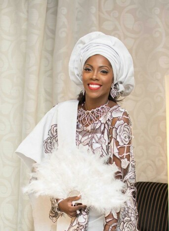 Tiwa Savages Traditional Wedding Outfit Photos