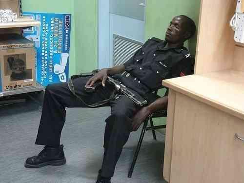 Sleeping On Duty Jokes Etc Nigeria