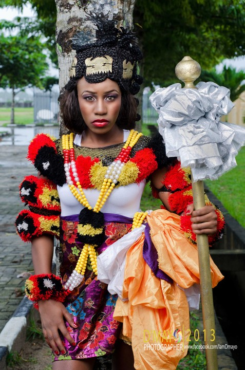 6 Lovely Indigenous Nigerian Wedding Attires And Bridal