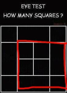 Eye Test: How Many Squares Are In The Diagram?  Forum Games  Nigeria