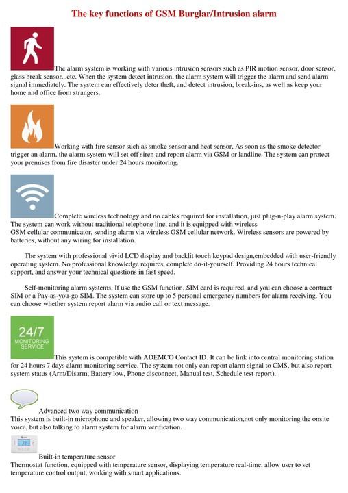 Wireless Alarm System Vs Hardwired
