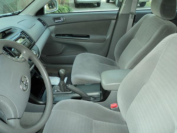 Toyota Camry Interior