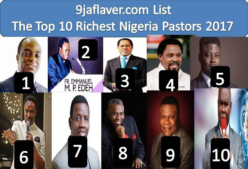 Top 10 Richest Pastors In The World 2018 List Updated