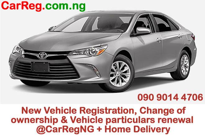 How Change Car Registration