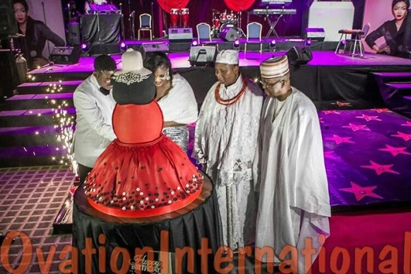 Omotola Jalade-ekeinde's 40th Birthday Party In Pictures ...