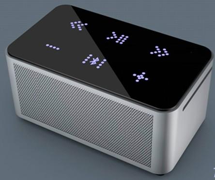 2013 Cool Aluminum Hi Fi Portable Bluetooth Speaker With